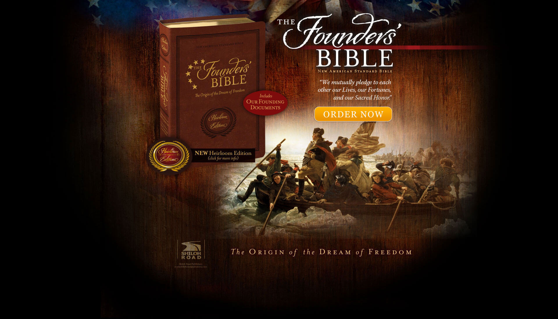 The Founders Bible - Crossing the Delaware